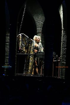 Born This Way Ball Tour. Versace brilliance.
