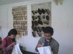 Foto kapan ya, dah lama nih, lagi mbatik di @museumbatik @infopekalongan @kotabatik :)