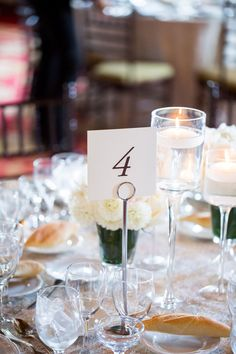 Elegant and Modern Reception Table Numbers by Fourteen-Forty   Photography by Kelsey Combe #nycwedding #fourteenforty www.1440nyc.com/cara-james-new-york-athletic-club