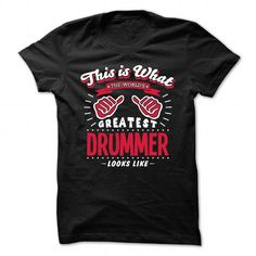Drummer T Shirts, Hoodies. Check Price ==► https://www.sunfrog.com/Automotive/Drummer-90481210-Guys.html?41382 $22.99