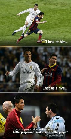 Cristiano Ronaldo and Messi Lionel Messi, Cristiano Ronaldo And Messi, Neymar, Cr7 Messi, Messi Gif, Cristano Ronaldo, Cristiano Ronaldo Wallpapers, Football Quotes, Football Is Life