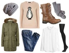 What to Wear When It's Really Cold: 4 Outfits for Below-Freezing Temperatures - College Fashion