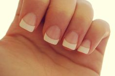 French manicure--always my favorite