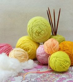 Spring. Fab colors for crochet garden scarf.
