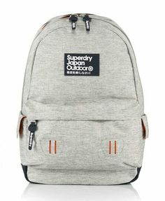 792879e114d Shop Superdry Mens Marl Montana Rucksack in Light Marl. Buy now with free  delivery from the Official Superdry Store.