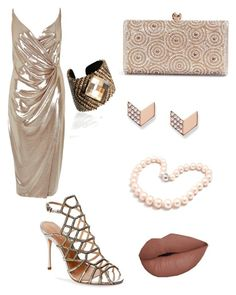 """""""Untitled #38"""" by salo-jojua on Polyvore featuring River Island, Schutz, FOSSIL and Hiho Silver"""