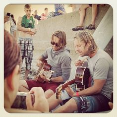 Jon Foreman and Drew Shirley playing acoustic= AMAZING!