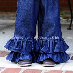 11/28/12   Denim Ruffle Pants