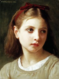 Global Gallery Une Petite Fille by William-Adolphe Bouguereau Framed Painting Print Size: William Adolphe Bouguereau, Painting Frames, Art Paintings, Painting Prints, Art Prints, Figure Painting, Painting & Drawing, Beaux Arts Paris, Munier