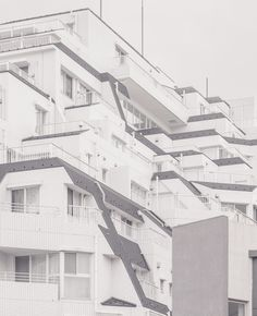 Parallel World by Jan Vranovsky - Surreal Photos of Japan and East Asia by architect, designer, and photographer Jan Vranovsky. In Praise Of Shadows, Surreal Photos, Visual Aesthetics, Photo Projects, White Aesthetic, Picture Wall, Surrealism, Facade, Architecture Design
