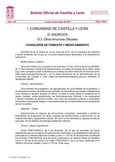 Subvenciones destinadas a la rehabilitación edificatoria.