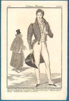 Regency fashion prin