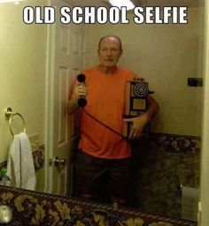 Funny pictures about Old School Selfie. Oh, and cool pics about Old School Selfie. Also, Old School Selfie. Can't Stop Laughing, Laughing So Hard, Best Selfies, Humor Grafico, I Love To Laugh, 2ne1, Funny Cute, That's Hilarious, Awkward Funny