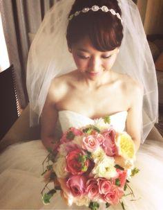 かすみ草の花かんむり の画像|Satomi の ハワイブライダルヘアメイク 『Satomi no sonogo』
