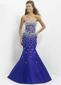 ecb4e10903  thepromdresses - super sexy Blush Prom 9713 - Amethyst Beaded Mermaid Prom  Dresses Online Plus