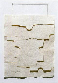 """Eduardo Chillida """"Boundaries are actually the main factor in space,just as the present,another boundary,is the main factor in time."""