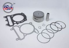 best price 72 5mm piston ring gasket kit for vog linhai yp vog 300 300cc tank touring jcl buyang d300 #scooter #parts