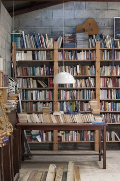 private book collection, Tracoulon, France