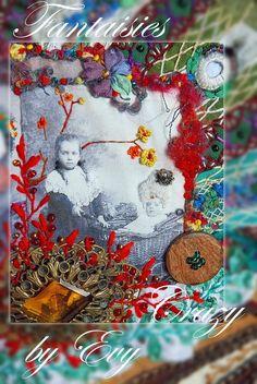 """sac besace """"Mémoire de Tiroir"""" by Evelyne Mauvilly link http://www.fantaisiescrazybyevy.blogspot.com/"""