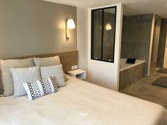 Dans le Val-d'Oise, Tiphanie, architecte d'intérieur MH DECO à Eaubonne, a réaménagé l'espace de cette maison individuelle.