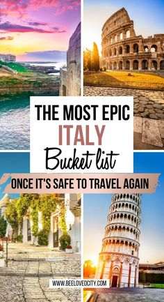 Discover the most beautiful places in Italy! Everything you need to know about the best places to visit in Italy is just here! Discover amazing cities, islands and mountains! Things to do in italy Cool Places To Visit, Beautiful Places To Travel, Best Places To Travel, Best Places In Italy, Best Of Italy, Rome, Italy Travel Tips, Travel Destinations, Milan Italy Travel