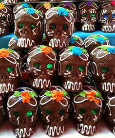 chocolate skulls mexicansugarskull.com