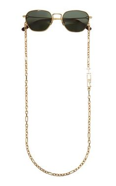Sunglasses with Chain by Alessandra Rich
