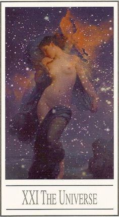 """""""Uni"""" is one. """"Verse"""" is a poem. The universe is one poem with YOU dancing in the center of it all. Wow! Where'd you get those sweet moves? #worldcard #tarotananda #sashagrahamtarotdiva"""