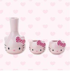 Hello Kitty cups Hello Kitty Kitchen, Hello Kitty House, Hello Kitty Baby, Hello Kitty Themes, Snoopy New Year, Hello Kitty Handbags, Hello Kitty Merchandise, Kitty Images, Hello Kitty Collection