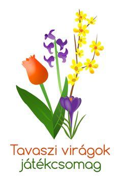 Versek tavaszi virágokról óvodás gyerekeknek - Játsszunk együtt! Crafts For Kids, Children, Spring, Plants, Creative, Boys, Kids Arts And Crafts, Kids, Big Kids