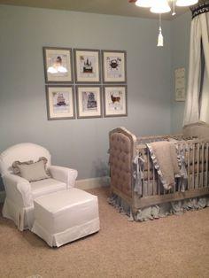 Twin Boy Nursery