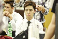 Sehun and Kyungsoo (D.O) | official SMTOWNnow 140814 update 'The press conference for 'EXO 90:2014''