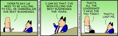 Dilbert comic strip for 12/30/2013 from the official Dilbert comic strips archive.