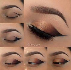 In love with it!!! #makeup #eyeshadow #brown #smokey #eye