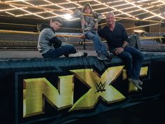 """""""Boys night out.Had the pleasure of seeing Congratulations to on the first time Mcmahon Family, Shane Mcmahon, Vince Mcmahon, True Love Stories, Love Story, Wwe 2, Sasha Bank, Superstar, Cool Pictures"""