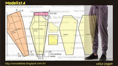 Image result for jogger pant free pattern
