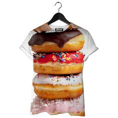Donut Stack Kid's Tee | Beloved Shirts - http://www.belovedshirts.com/collections/beloved-kids-tees/products/donut-stack-kids-tee