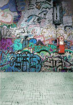 Kate Graffiti Wall Photography Backdrops Hip-pop Green Brick Wall Photo Studio Background for Children Birthday Backdrop Desktop Background Pictures, Banner Background Images, Studio Background Images, Photo Backgrounds, Backgrounds For Photoshop, Photoshop Cloud, Newspaper Background, Digital Backgrounds, Blur Background Photography