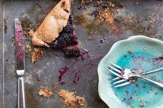 Blackberry Crostata with a fabulous spelt crust. My favorite dessert ...