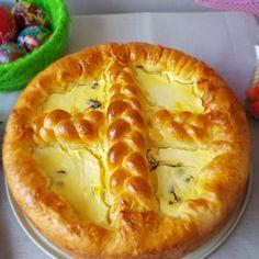 Reteta Pasca cu aluat de cozonac Sweets Recipes, Easter Recipes, Cake Recipes, Romanian Desserts, Romanian Food, Braided Bread, Bread Bun, Pastry And Bakery, Sweets