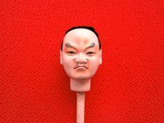 Japanese Doll Head Hina Matsuri Man D105 Hina by VintageFromJapan, $12.00 Warrior?