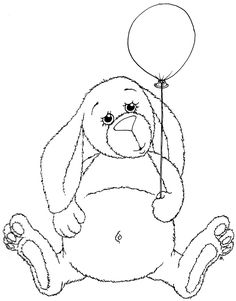 Beccy's Place: Balloon Bunny