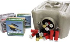 WaterBrick for Ammo Storage | Preppers Anonymous --  WaterBrick containers are the 21st century ammo can for all types of ammunition. These containers don't sweat like traditional metal ammo cans and feature a notched lid with full gasket for an air tight seal.