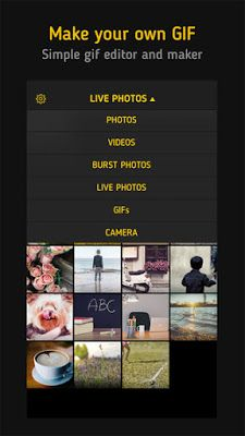 How to change Live Photos to GIF and other formats quickly