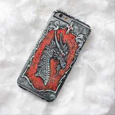 Gothic Dragon iPhone 6 Case by Wraithe Designs.