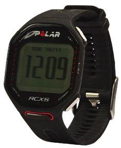 RCX5 | Polar | €395,95  Het horlogebandje bevat maar liefst 35 gaatjes, en is dus bijna traploos verstelbaar. De kast is plat, de display goed leesbaar. De menu-opbouw is intelligent en overzichtelijk. Bij sommige sporthorloges is het een ramp om ingevoerde gegevens te wijzigen, maar bij de RCX5 is dat geen probleem. De hartslagmeter laat verschillende dingen zien: topsnelheid, gemiddelde snelheid, actuele hartslag, gemiddelde hartslag, hartslagzone, afgelegde afstand en calorieverbruik.