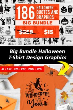 T Shirt Design Template, Graphic Quotes, Halloween Quotes, Get It Now, Halloween Design, Funny Tshirts, Bubble, Shirt Designs, Thankful