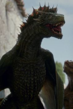 rhaegal, loyal to dany; born DRAGON