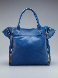 Possé Marie Large Zipper Tote - Gilt.com = Great color! Big bag! What's not to love?!