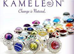 Kameleon sterling silver interchangeable jewel pop jewelry